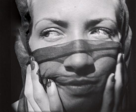 John Gutmann- Above the Veil, Her Eyes, 1935 11