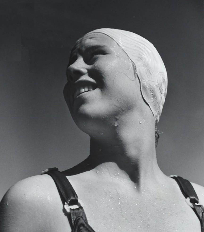 John Gutmann- After Her Dive, Watching a Rival, 1936