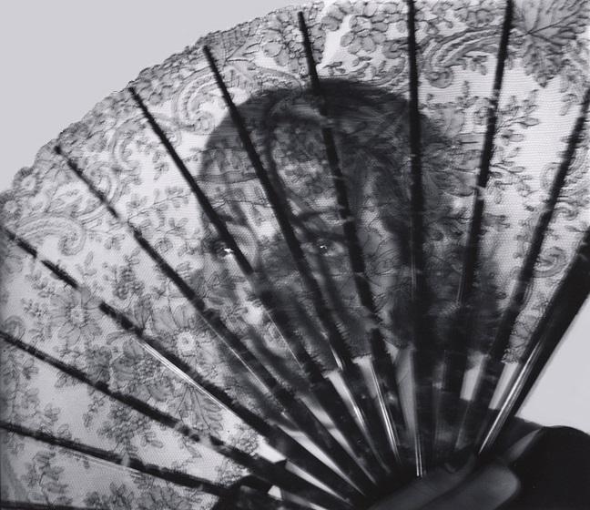 John Gutmann-Behind the Fan, 1935