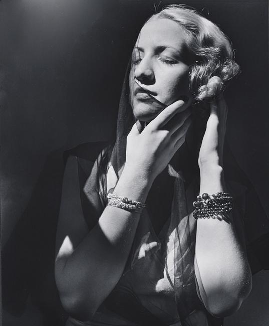 John Gutmann-Closed eyes, 1935