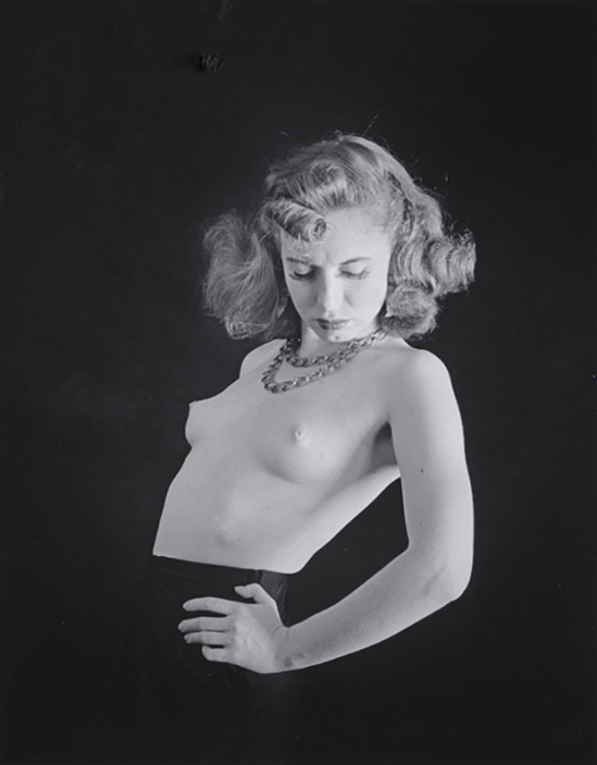 John Gutmann- Dancer Topless, 1939 © Arizona Board of Regents