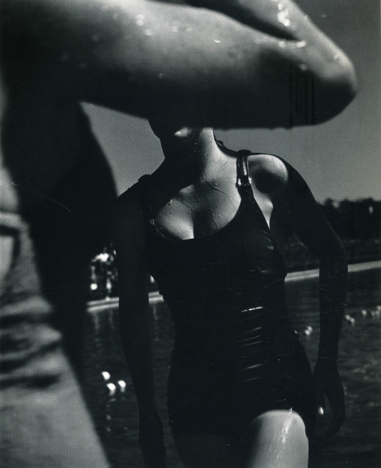 John Gutmann - Out of the pool, 1934