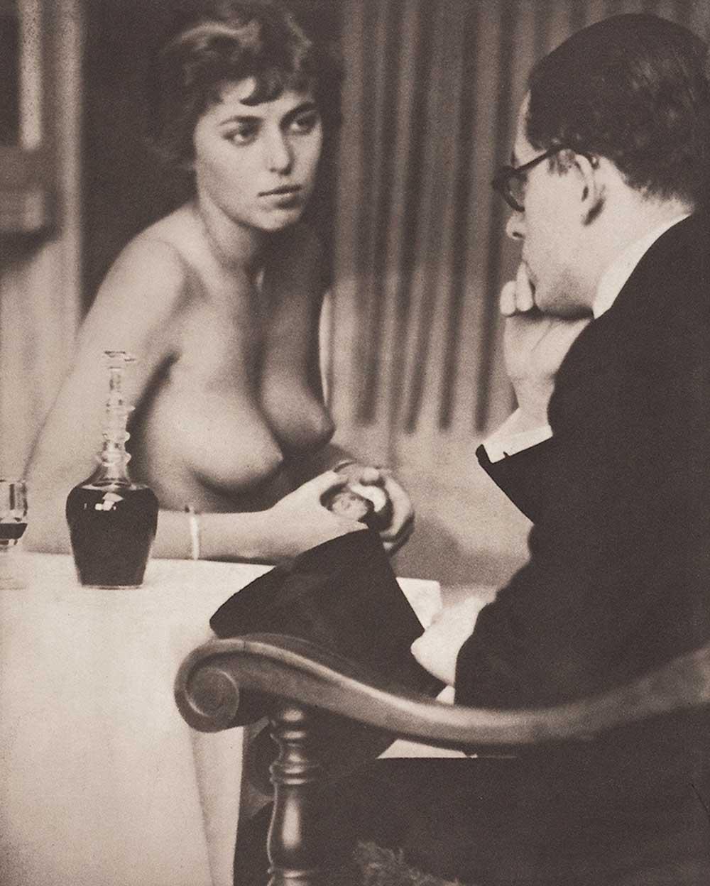 Josef Breitenbach.Dr. Riegler and J. Greno - Munich,1933 Photogravure on wove paper