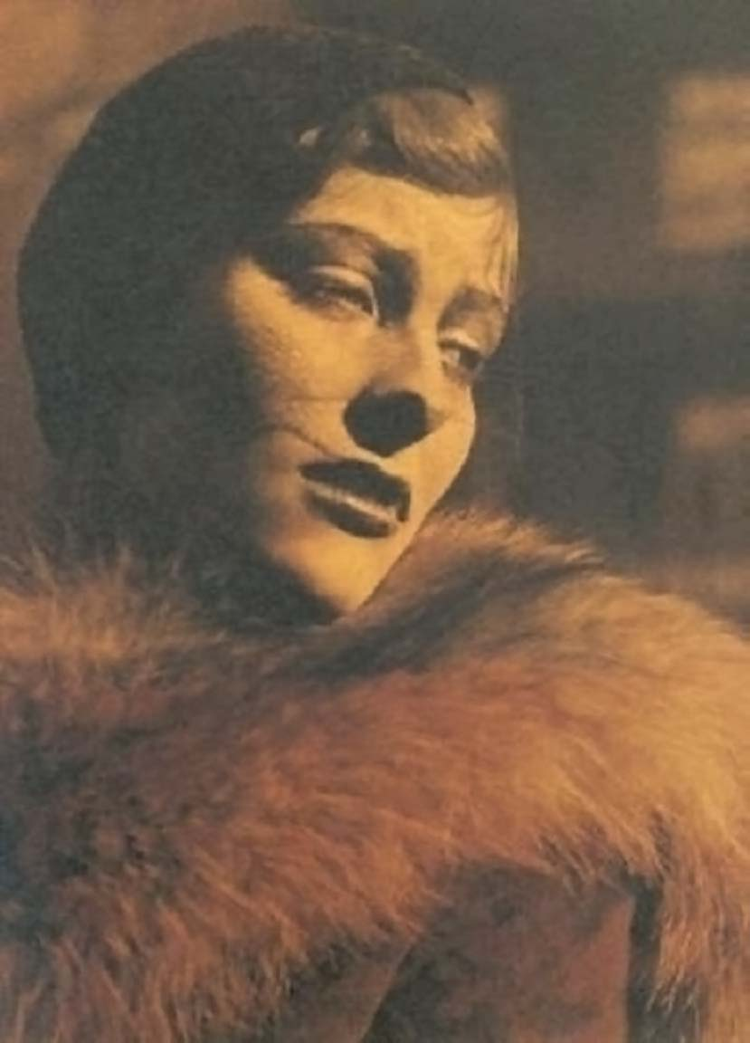 Josef Breitenbach – Portrait of the actress Marianne Hoppe, 1933