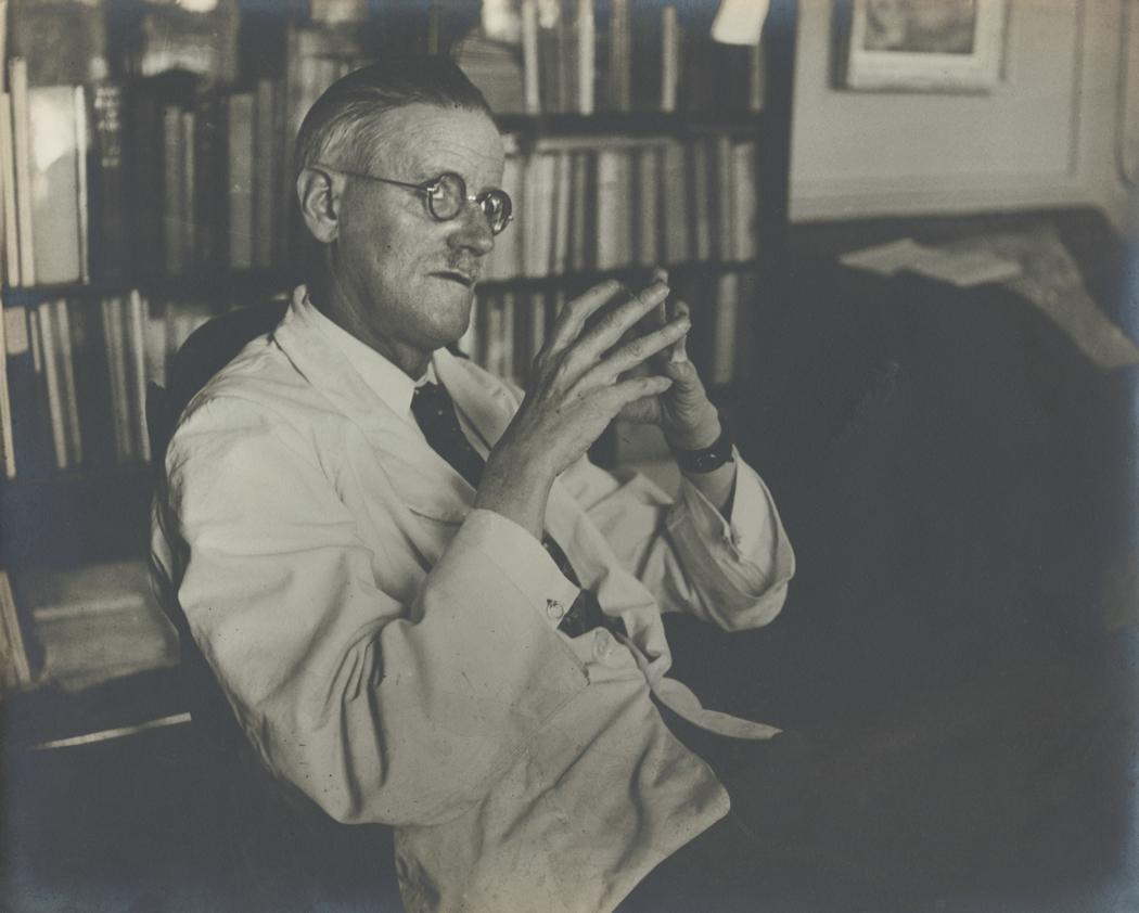 Josef Breitenbach-James Joyce, Paris , 1937