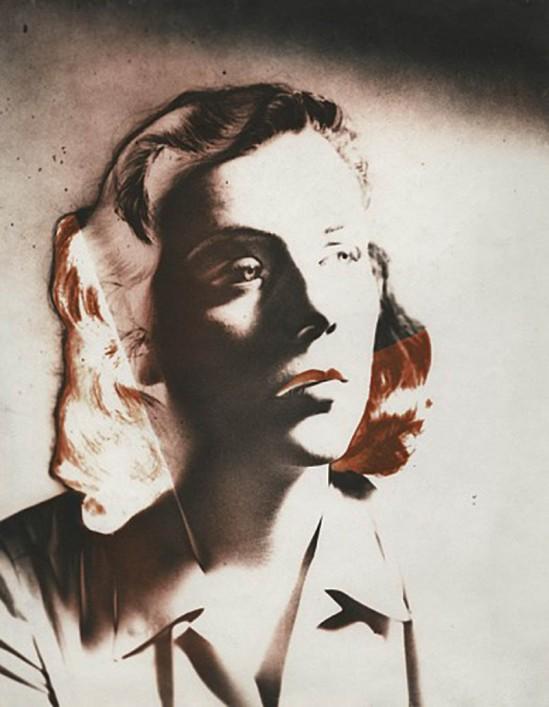 Josef Breitenbach- Patricia, New York, 1942, Vintage toned gelatin silver print © The Josef Breitenbach Trust