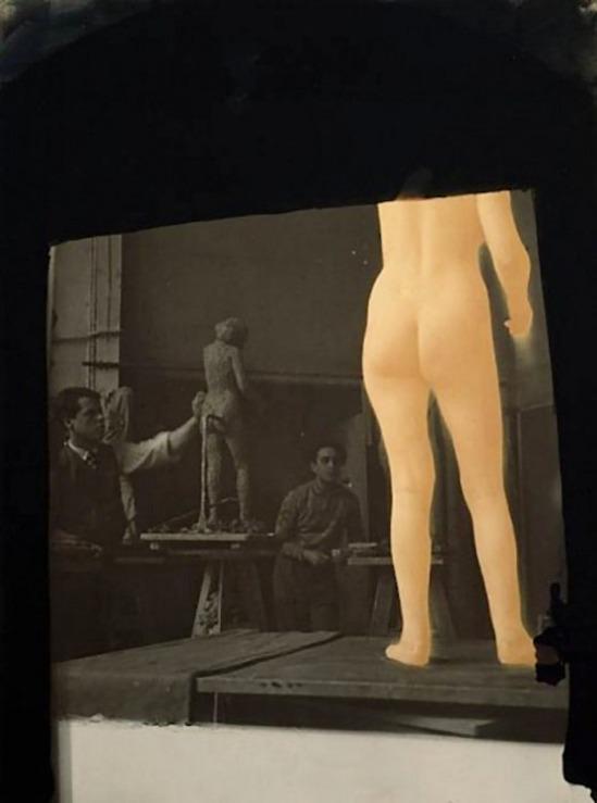 Josef Breitenbach, Sculpture Academy, Paris 1935  © The Josef Breitenbach Trust