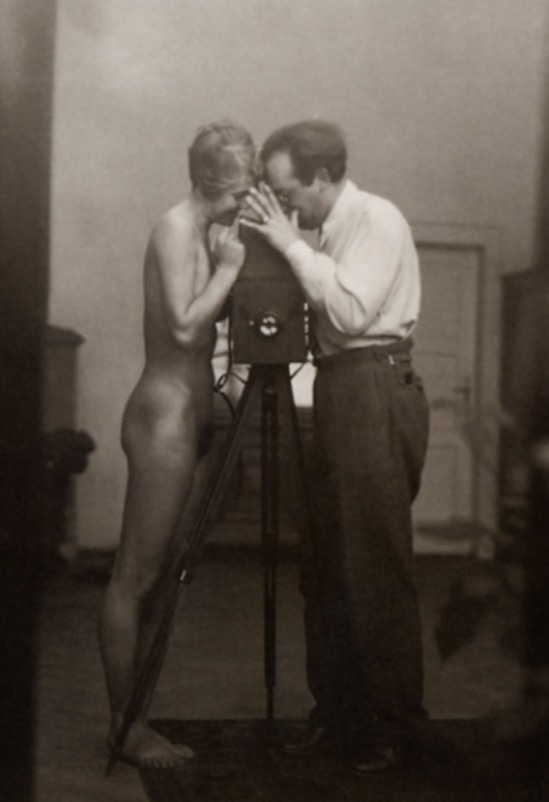 Josef Breitenbach - Self-Portrait with J. Greno ,1933 © The Josef Breitenbach Trust