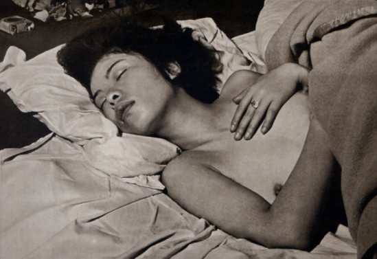 Josef Breitenbach-Sleeping Japanese Girl, Japan, 1968.        © The Josef Breitenbach Trust
