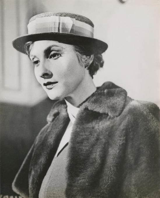 Josef Breitenbach-Sybille Binder, in fur coat. 1932