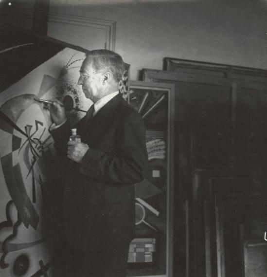 Josef Breitenbach-Wassily Kandinsky, Neuilly-sur-Seine 1938