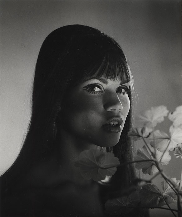 Laurence Le Guay- Marietta Nagel, Half-Indonesian Model, c1960s. Vintage silver gelatin