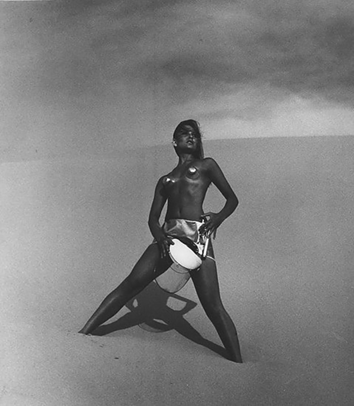 Laurence Le Guay- [Future Fashion], 1960s. Vintage silver gelatin print