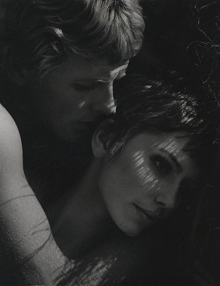 Laurence Le Guay- Marietta Nagel, Young Lovers In The Grass,1960s. Vintage silver gelatin print