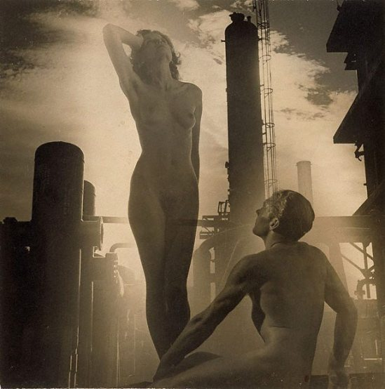 Laurence Le Guay- The progenitors , 1938 gelatin silver photograph, toned montage