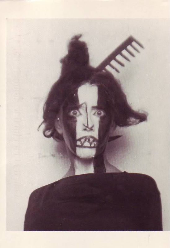 Man Ray- Portrait of the dancer- choregrapher Bronislava Nijinska , 1922; November 1922 issue; Courtesy Condé Nast Archive