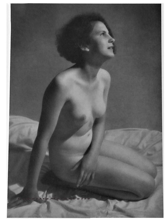 nude by Lala Aufsberg Plate#23, Portfolio Das Deutsche Aktwerk edited Bruno Schultz , ed° #2 , 1940 ( first edition in 1938)