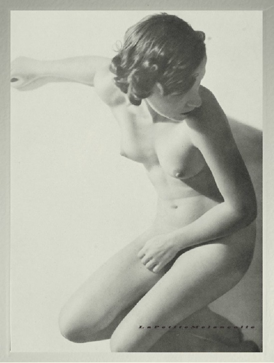 nude on the beach, Plate #12 Kurt Wendler Portfolio Das Deutsche Aktwerk edited Bruno Schultz ,ed° #2, 1940 (first edition in 1938)
