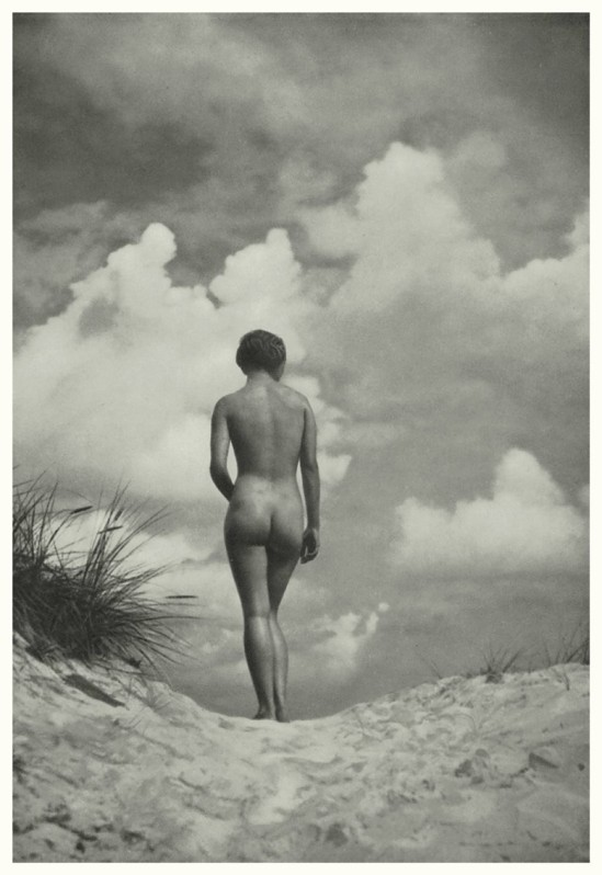 nude on the by Heinz v. Perckhammer, 1930s plate #2 ,Portfolio Das Deutsche Aktwerk edited Bruno Schultz , ed° #2 , 1940 (first edition in 1938)