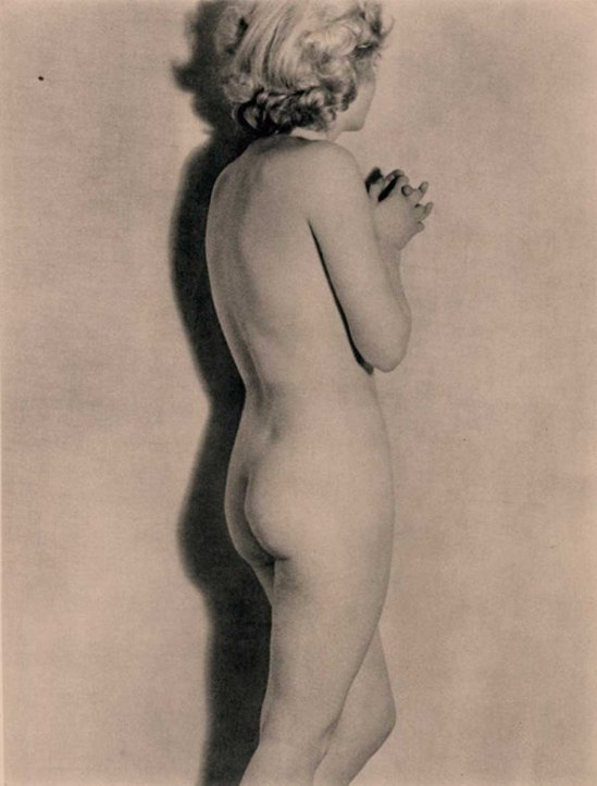 Remy Duval- Nu  photogravure, 1937