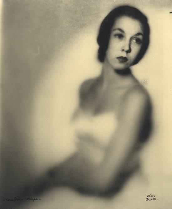 Remy Duval-Portrait d'une Danseuse 1931