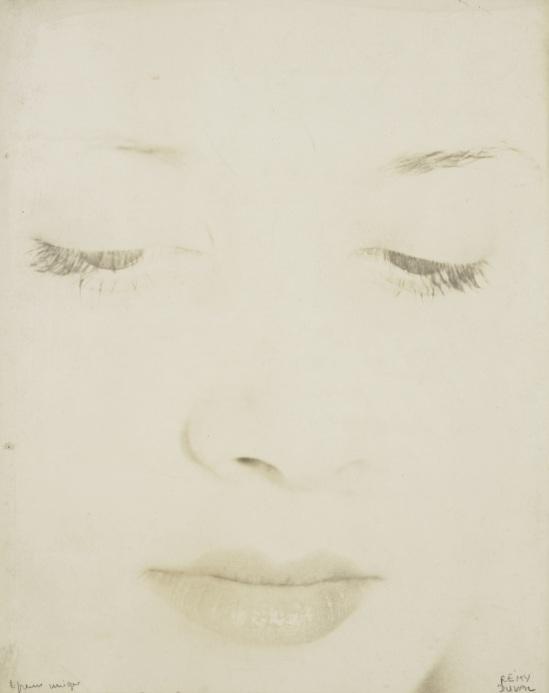 Remy Duval-Portrait féminin surexposé,  1935