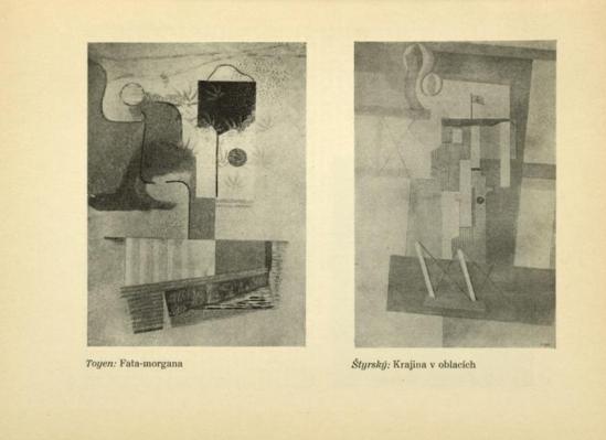 Toyen- Fata-moragana & Štyrský Krajina v oblacích. (1927-1931) From ReD published by Karel Teige), 1927-28