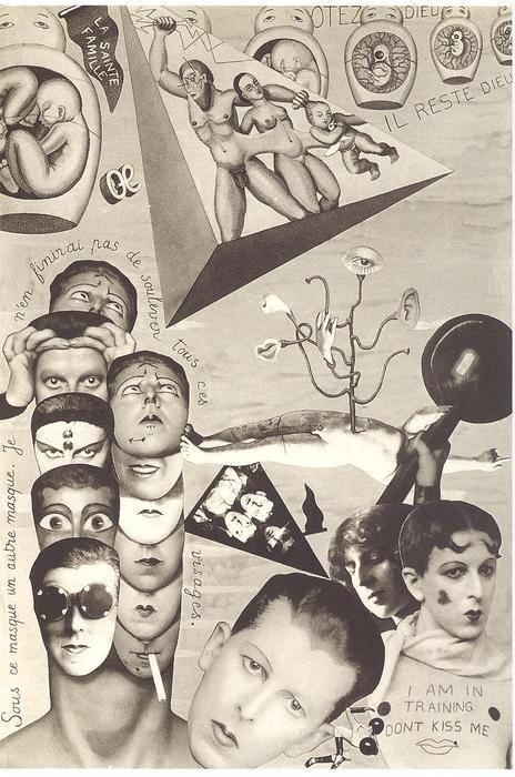 Claude Cahun - Aveux non avenus , photomontage ( réalisé entre 1919 et 1929), publié en 1929