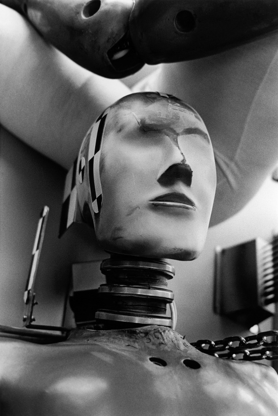 Helmut Newton -Renault Crash Center, France, 1997
