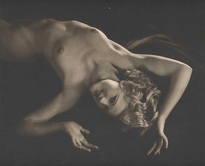 Walter Bird - Aphrodite, ,( model Mathea Merryfield ) from From Beauty's Daughters