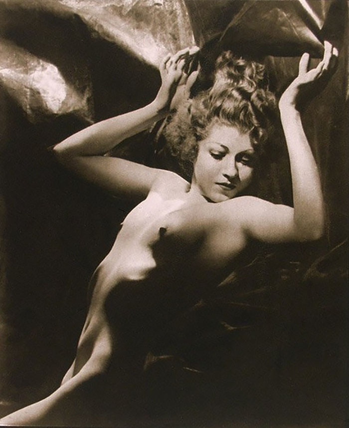 Walter Bird - Aphrodite ,( model Mathea Merryfield No. 3. ) from From Beauty's Daughters 1938