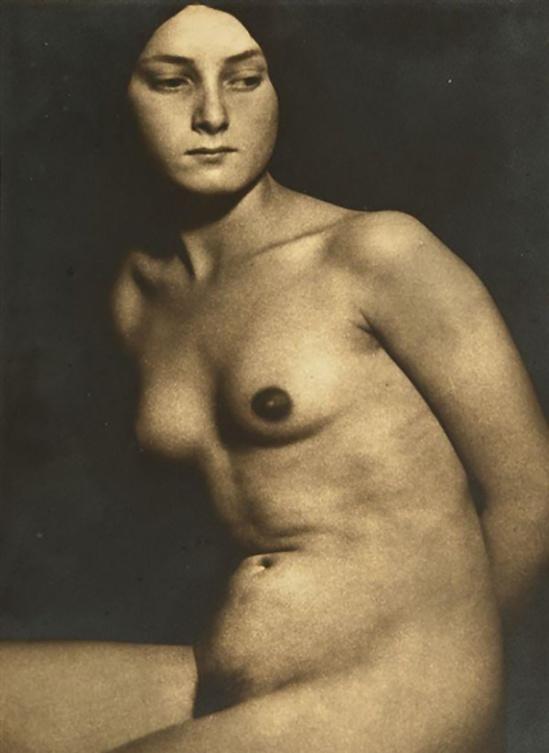 Albert Rudomine -Female nude, 1930's (C) Albert Rudomine