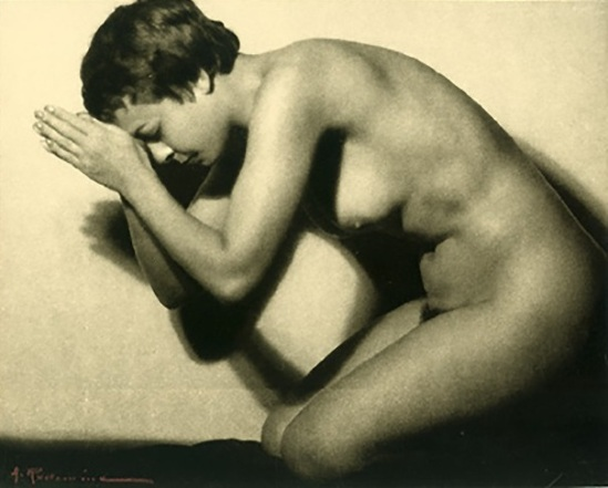 Albert Rudomine -La Priere -The Prayer, 1935 (C) Albert Rudomine