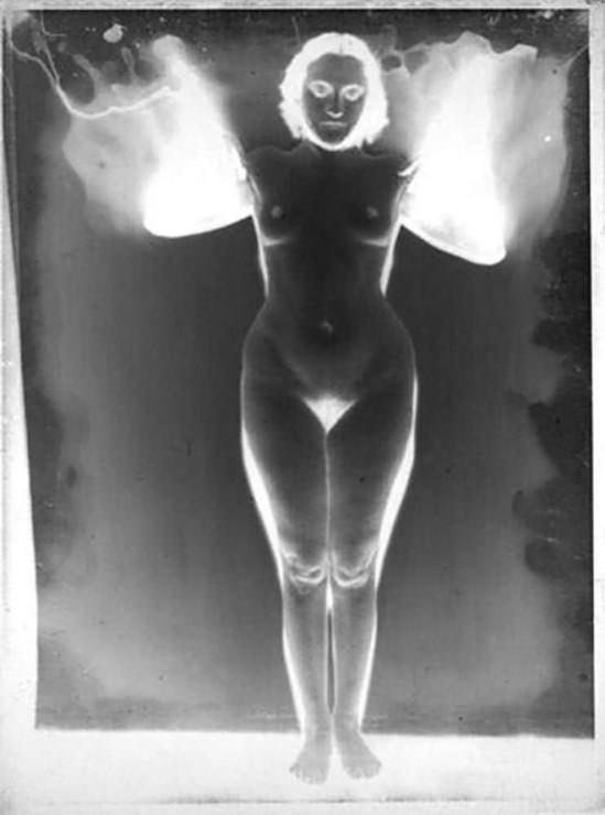 Albert Rudomine-Nu aux taches d'encre, années 1930 negatif (C) Albert Rudomine