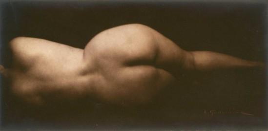 Albert Rudomine - Nu de dos allongé, 1925 (C) Albert Rudomine