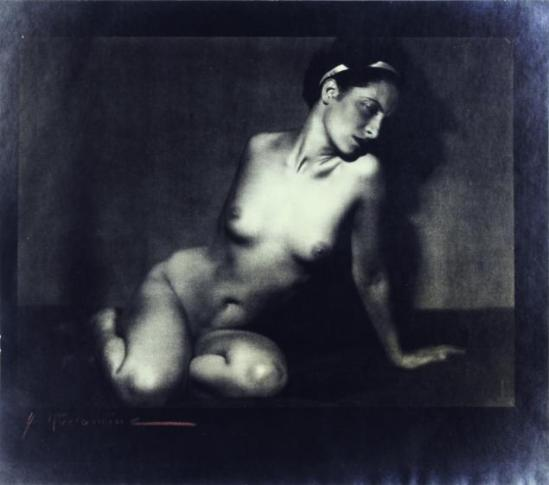 Albert Rudomine -Nu féminin, vers 1930 (C) Albert Rudomine