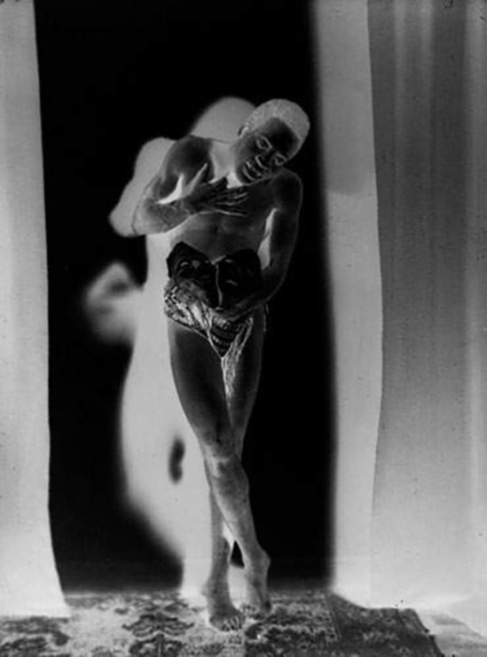 Albert Rudomine-Portrait du danseur Benga, années 1930, negatif (C) Albert Rudomine