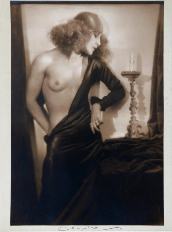 Angelo Pál Funk -Nude with Candlestick, 1930