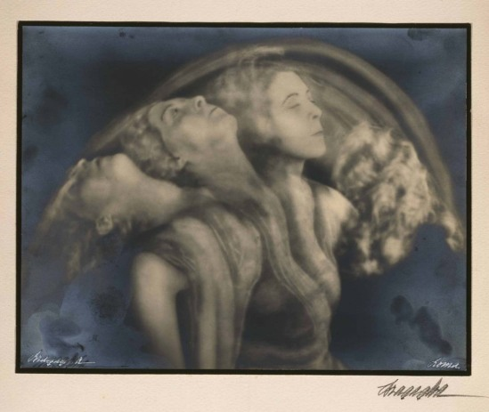 Arturo Bragaglia - L'éventail, 1928 (Archives internationales de la danse. D.R. BnF, Bibliothèque Musée de l'Opéra)