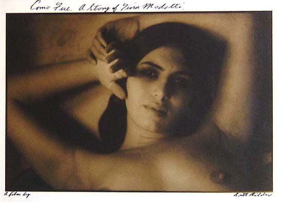 Brett Hilder - Italian Girl (Como Fue), A Story of Tina Modotti. A film [by Brett Hilder]. Print made Hill End 2002.