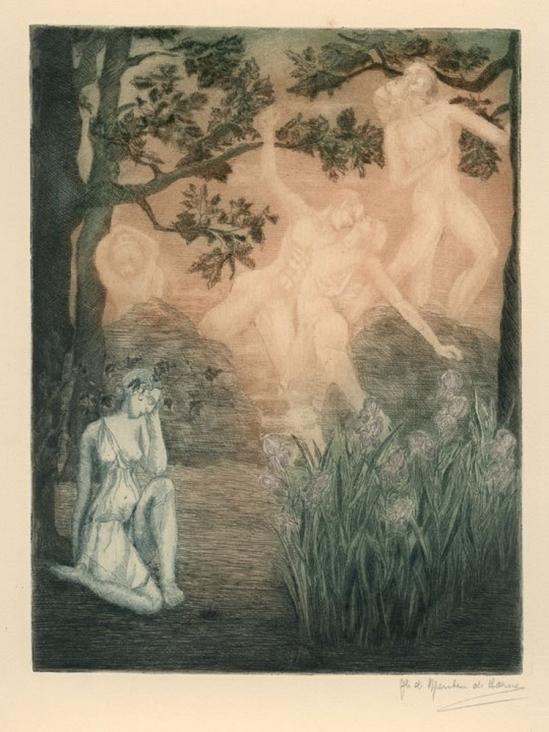 Ghislaine de Menten de Horne Souvenir, 1935