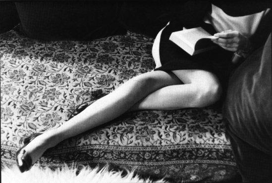 Henri Cartier-Bresson, Martine's Legs, 1968 avec la géante