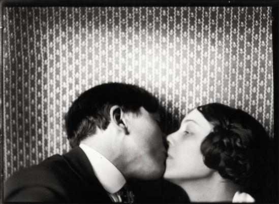 John Léo (dit Jean) Reutlinger (1891-22 août 1914) -Autoportrait avec Germaine Schroeder( poètesse [1] vers 1913