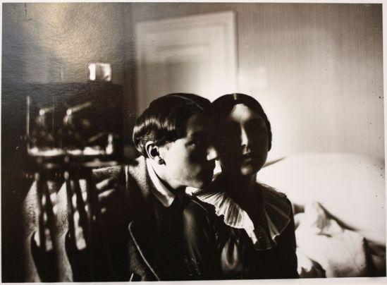 John Léo (dit Jean) Reutlinger (1891-22 août 1914)Autoportrait avec Germaine Schroeder( poètesse) , vers 1913