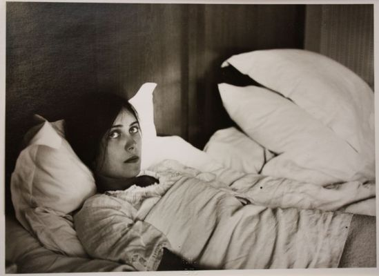 John Léo (dit Jean) Reutlinger (1891-22 août 1914)portrait de Germaine Schroeder  vers 1913 source bnf exposition