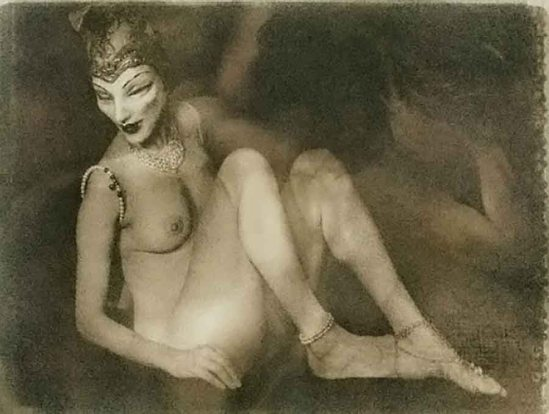 Joy Goldkind - Masked Nude, 2003
