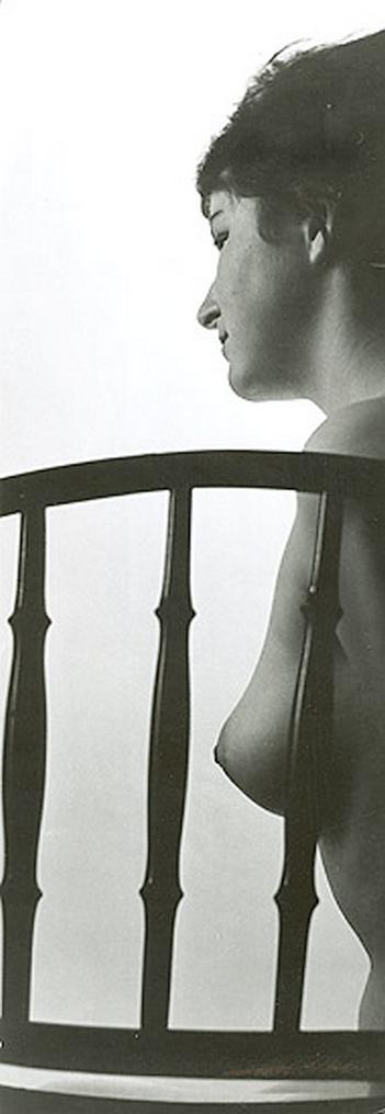 Ladislav Postupa - Female Nude  with Chair, 1970