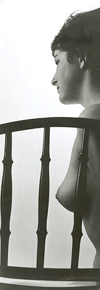 Ladislav Postupa - Female Nude  with Chair, 1970