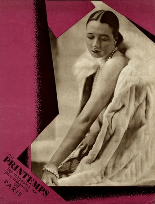 Laure Albin Guillot -Au Printemps (Department Store) 1919 Fur Coat,