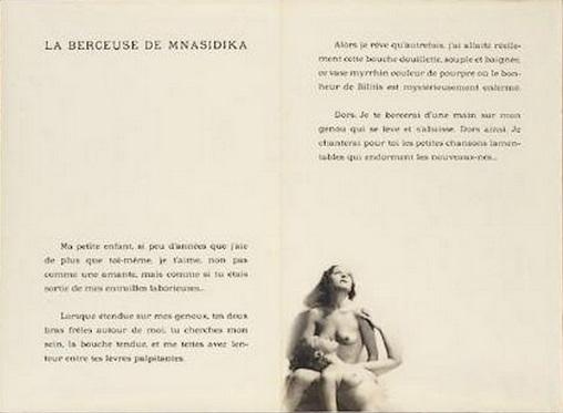 Laure Albin-Guillot- DOUZE CHANSONS DE BILITIS DE PIERRE LOUYS ILLUSTRÉES DE PHOTOGRAPHIES PAR LAURE ALBIN-GUILLO,1937